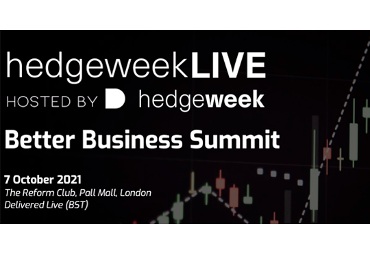 Drofa Comms at Better Business Summit (Hedgeweek) in London